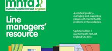 MHFA Line Managers  resource