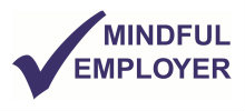 Mindful Employer logo blue jpeg