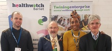 Healthwatch Barnet Black History Month Event web crop