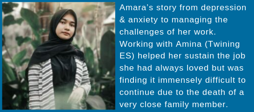 IAPT Harrow Success Story Amara website